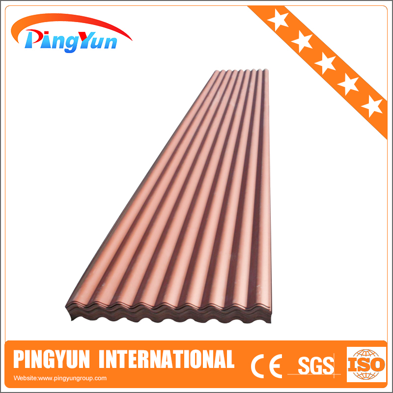 Cheaper plastic wave roof tile/popular pvc corrugated roof tile