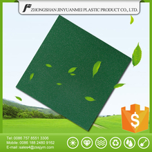 Recycled material flash series green color pvc vinyl tile flooring for kitchen