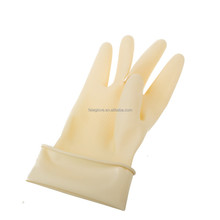 Skin Color industrial household Latex Gloves