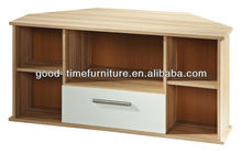 fsc modern melamine wood tv stands wall units