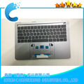 Original Topcase with US Keyboard standard for MacBook A1706 Topcase 2016 2017 Years Silver Color