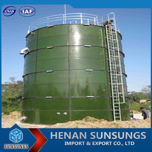 Fermentation animal dung sewage and straw biogas digesters for farm