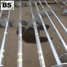 SS175 steel Helical Piers /Anchors