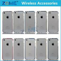 In China Cheap Phone Color Slim Thin Transparent Tpu Cover Case For Iphone 5 Shock Back Plate And Rubber Bumper