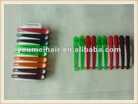 wholesale new design fashionable plastic hair clips