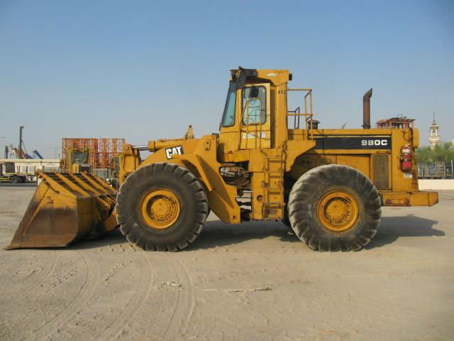 980C Wheel Loader, Stock#1045
