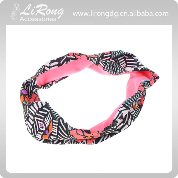 Original design new cotton elastic sport hair band,sport headband,Fabric hair accessories
