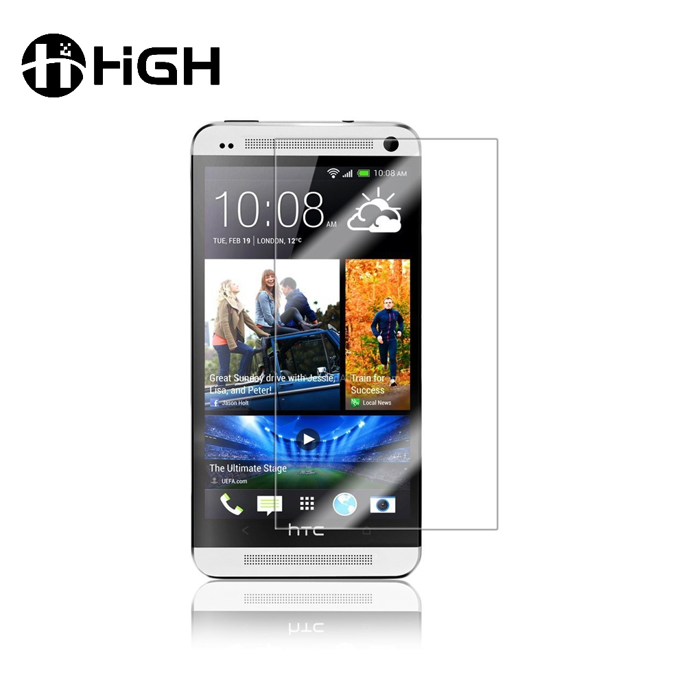Factory price unlocked screen protector for HTC, clear glass film wholesale