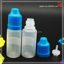 hot slae recycling plastic bottle dropper carrier with childproof cap