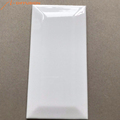 white glossy pillow glazed ceramic wall tile 75x150 3x6 inch