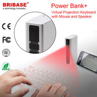Mini Wireless Keyboard with Trackball Mouse for Smartphone Laptop