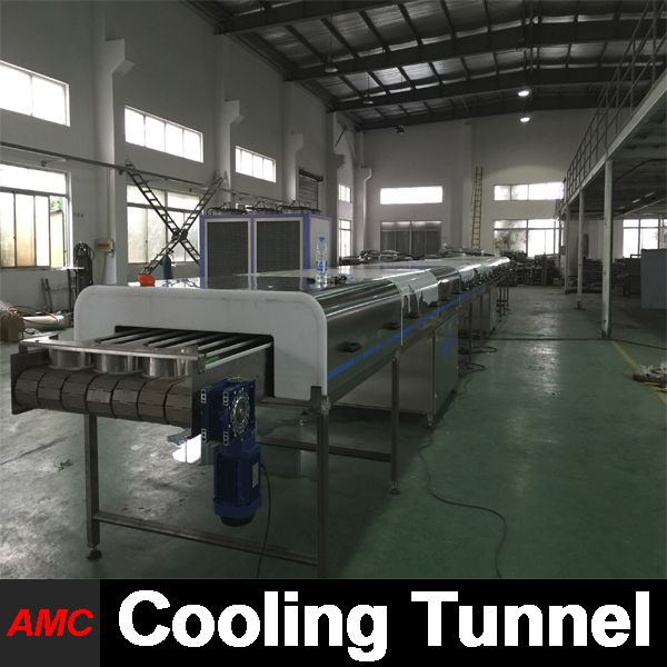 AMC Manufacturers Full Automatic steak knives Cooling Tunnel Machine For Production Line