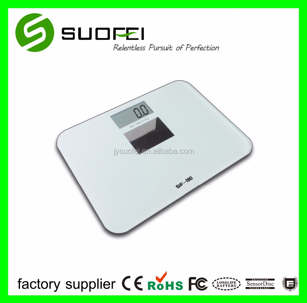 Household Solar Energy Mini Digital New Style Bathroom Scale SF-190