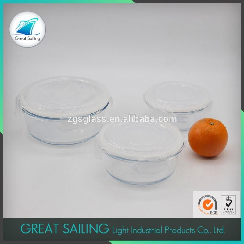 Japanese Heat Resistant Clear Food Container