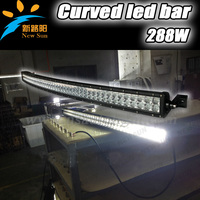 50 inch 288W 4x4 C ree Led Car Light, Curved 50'' led light bar Off road,auto led light arch bent