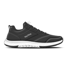 Ying Wang name brand lace up mens sport running athletic shoes