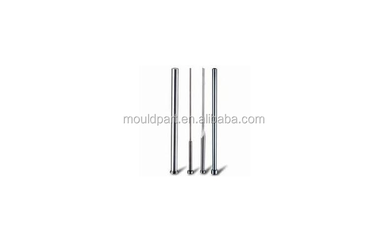 Hardened ejector pins & core pins for plastic injection mold