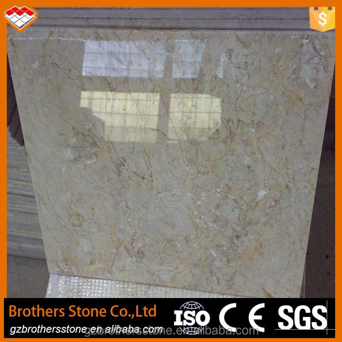 China supplier cut to size 60*60cm golden leaf beige marble marble tiles and marbles