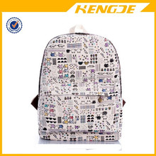 2015 Japanese Vintage Reminiscence Cartoon Students Backpack School Bag
