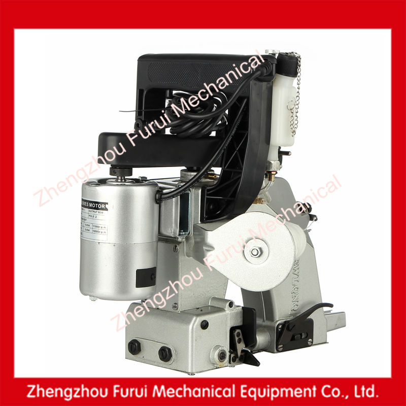 2014 non woven bag sewing machine/big bag sewing machine/woven bag automatic cutting and sewing machine