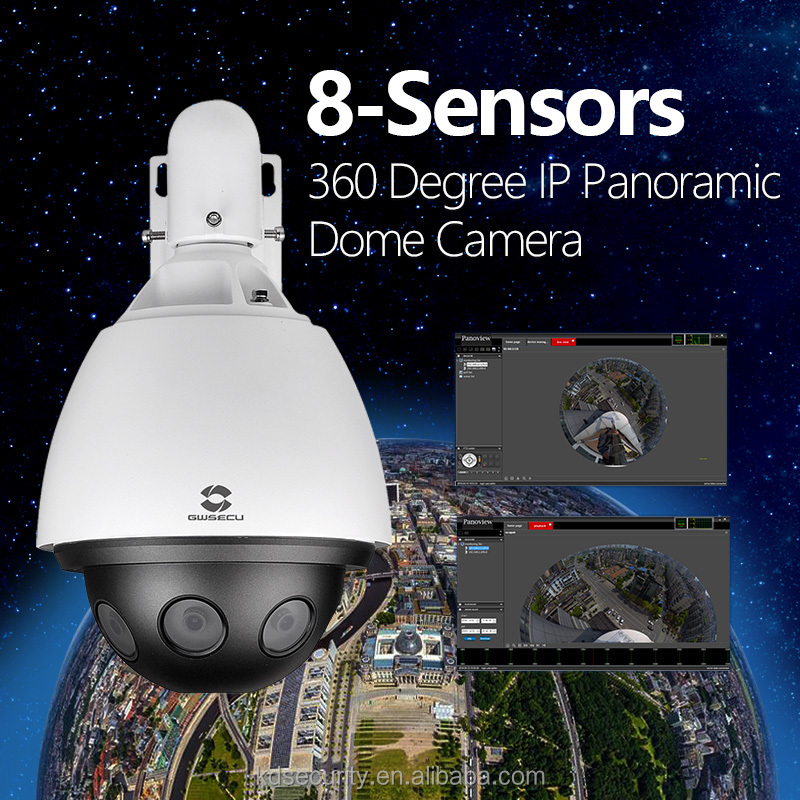 24mp panoramic ip camera 360 degree surround view camera-omniview by platform software control