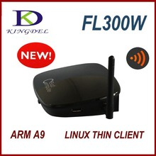 Thin client terminal mini pc with multi users, 32 bit ARM-A9,Linux 2.6 OS, RDP 7.1,wide screen,desktop cloud computing FL300