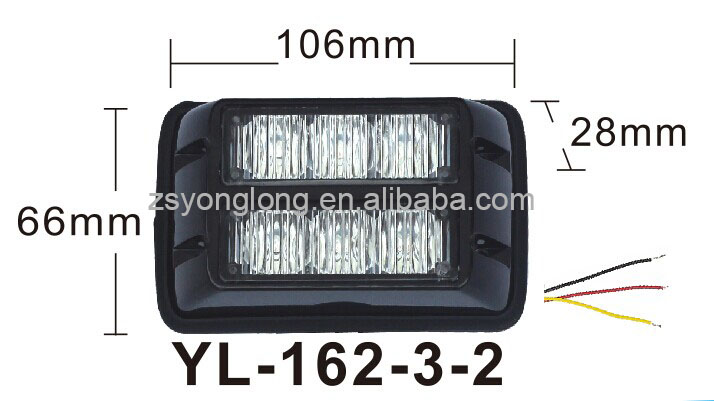 car led strobe light ece r65, new led strobe light waterproof, flash police light