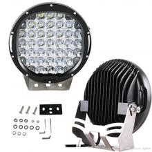 High Power LED Driving Light 9 Inch hid 96w 185w LED Off road Lights 12v for hot sxs 4x4 Atv Suv Truck