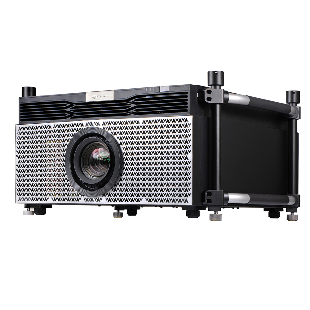 Salange Laser Projector 10000 lumens with 1920*1200p Changeable <strong>Electronic</strong> Lens Support 24 hours&7 days Working