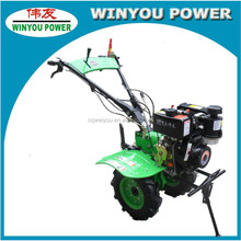 China WY1080 Engine Gasoline and Diesel Power Tiller/Mini Walking Tractor/Ditcher For Sale