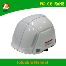 2016 innovative products foldable engineering standard safety work helmet