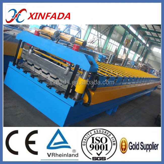 Fully Automatic Metal Roof Plate Cold Roll Forming Machine