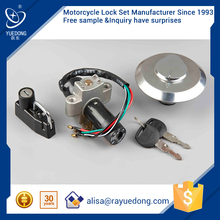 ZH125 DY150-10 motorcycle lock set for honda dio parts,ignition switch,fuel tank cap