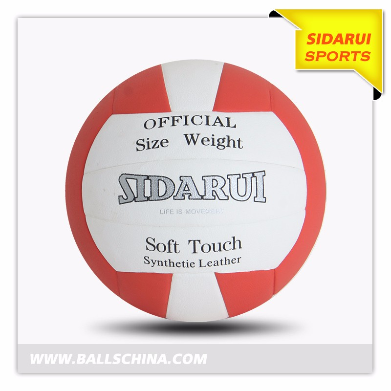 Professionele Officiële Maat 5 Custom Print soft touch Training PU volleybal