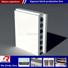 Light Gypsum Wall Panel And Block Machine/Hollow gypsum block automatic plant