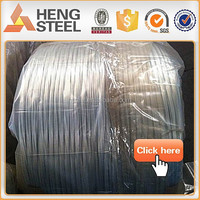 0.3mm-3.5mm Hot dipped galvanized steel wire for Armored cable