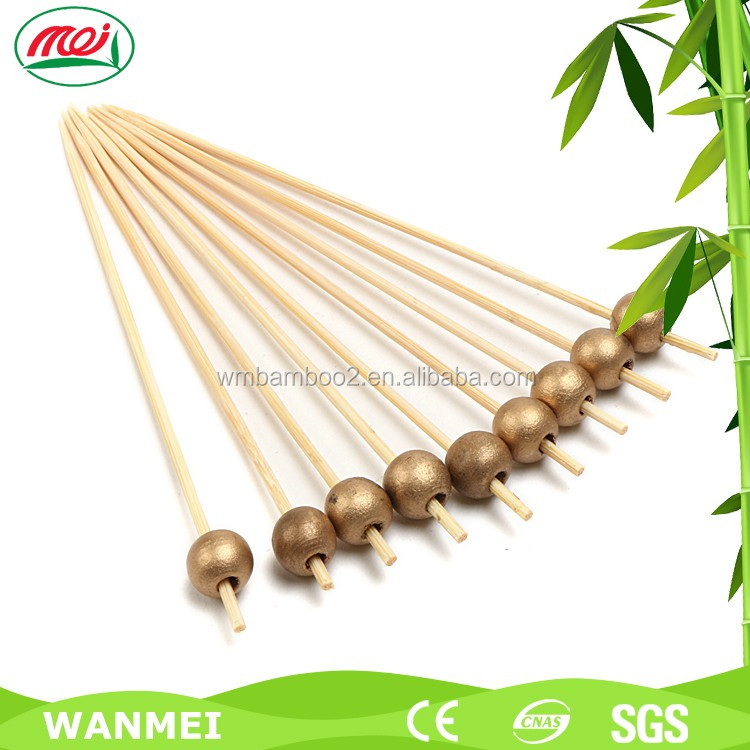 Disposable fruit ring bamboo stick