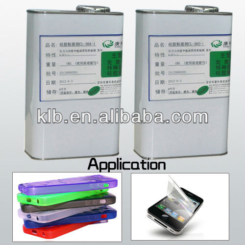 heat set strong liquid adhesive for medical products e6000 glue