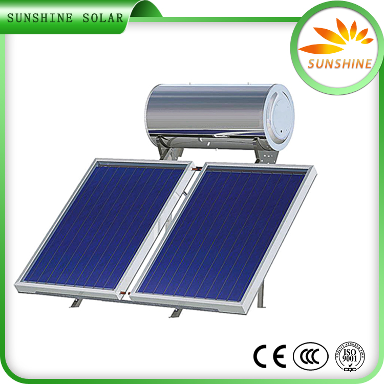 High Efficient Solar Water Heater Solar Collectors Flat Panel Solar Water Heater