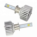 Factory auto led headlight bulb with canbus 3 fountions T5+ car led headlight dual color H1