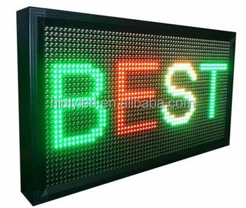 New products P10 LED programmable sign led display board, led screensign led moving display