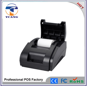 pos printer /58mm printer thermal driver /usb+lan+rs232 pos printer