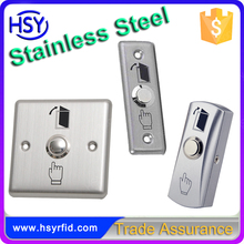 RFID stainless steel push door lock exit panic button
