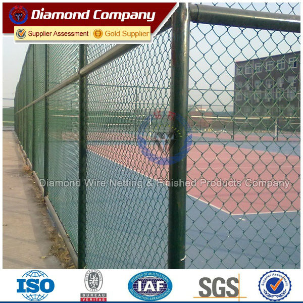 hot dipped galvanized chain link fence/chain link fence for baseball fields