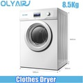Olyair New model 8.5Kg Tumble electric air vented clothes dryer
