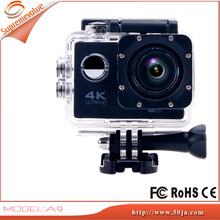A9 Allwinner V3 2.0inch 170 Degree 4K Wifi Waterproof Sports XDV Action Camera FOV 2 inch LCD Screen 30M Waterproof