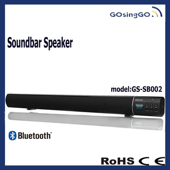 2.1 CH home theater sound system bluetooth soundbar with fm radio usb port subwoofer outside speaker for ipad and mobile phone