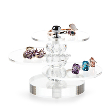 Acrylic Jewelry Display Props Transparent Rings Bracelets Earrings Counter