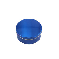Wholesale High qulity small round aluminum tin box