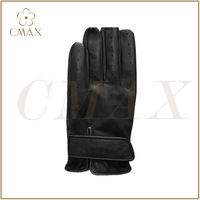Hot selling black|white Top Grade Golf Leather Glove